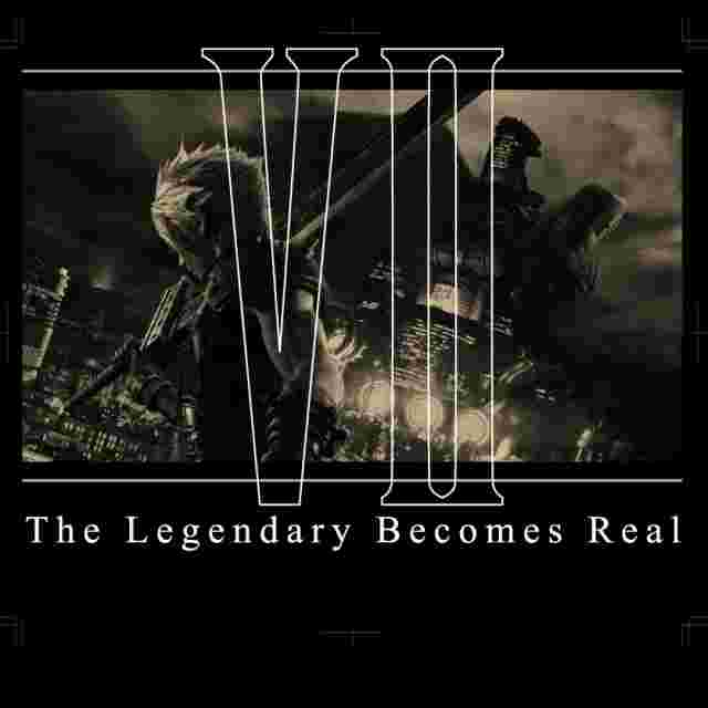 Screenshot for the game FINAL FANTASY® VII REMAKE T-shirt The Legend Becomes Real: L [Apparel]