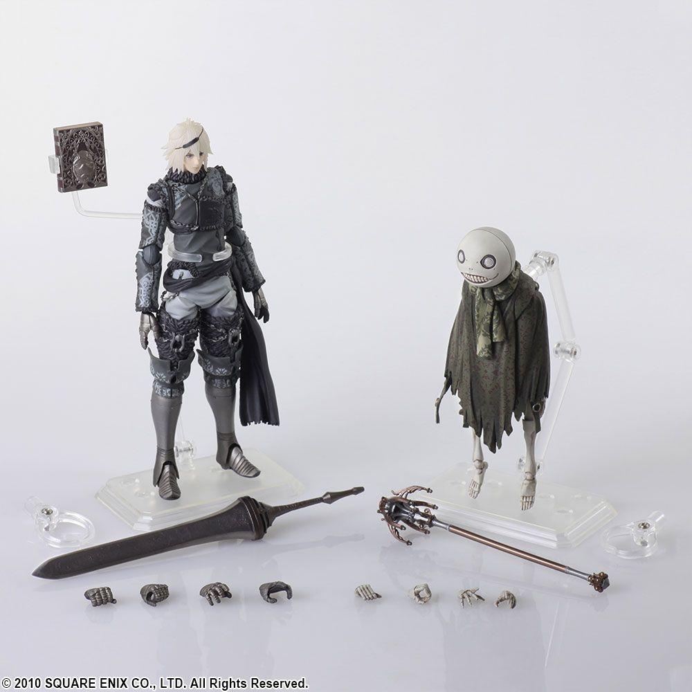 US SELLER Bring Arts Nier /& Emil Set from Nier Automata