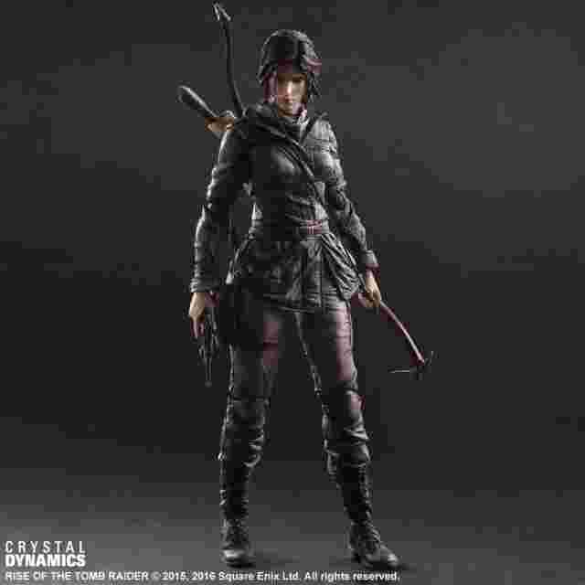 Capture d'écran du jeu Figurine Rise of the Tomb Raider PLAY ARTS KAI [Lara Croft]