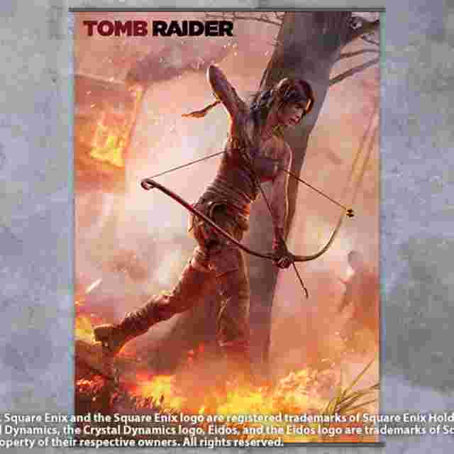 Screenshot for the game WALLSCROLL TOMB RAIDER VOL 1 (POSTER TISSU)