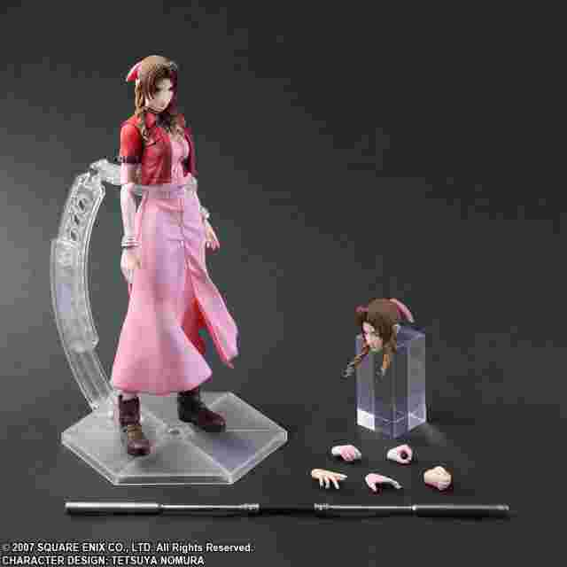 Screenshot des Spiels CRISIS CORE - FINAL FANTASY PLAY ARTS KAI Aerith Gainsborough