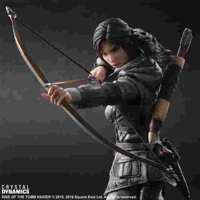 Captura de pantalla del juego Figurine Rise of the Tomb Raider PLAY ARTS KAI [Lara Croft]