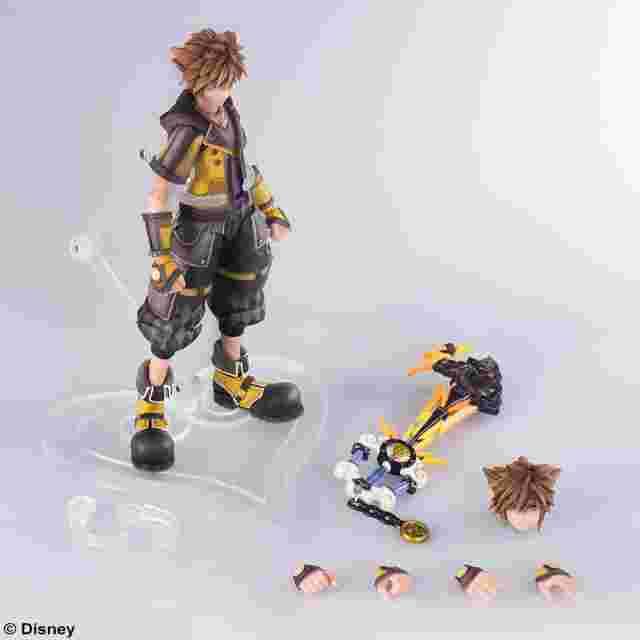Screenshot for the game KINGDOM HEARTS III BRING ARTS SORA (Guardian Form Ver.) [ACTION FIGURE]