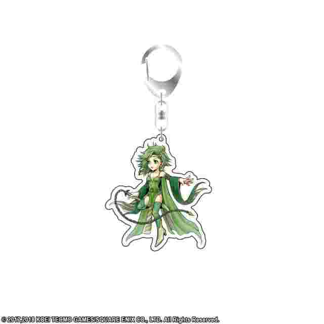 Capture d'écran du jeu DISSIDIA FINAL FANTASY Acrylic Key Holder - Rydia