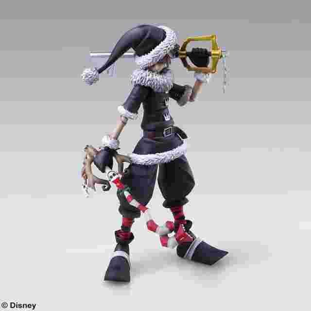 Screenshot des Spiels KINGDOM HEARTS II BRING ARTS - SORA CHRISTMAS TOWN Ver.