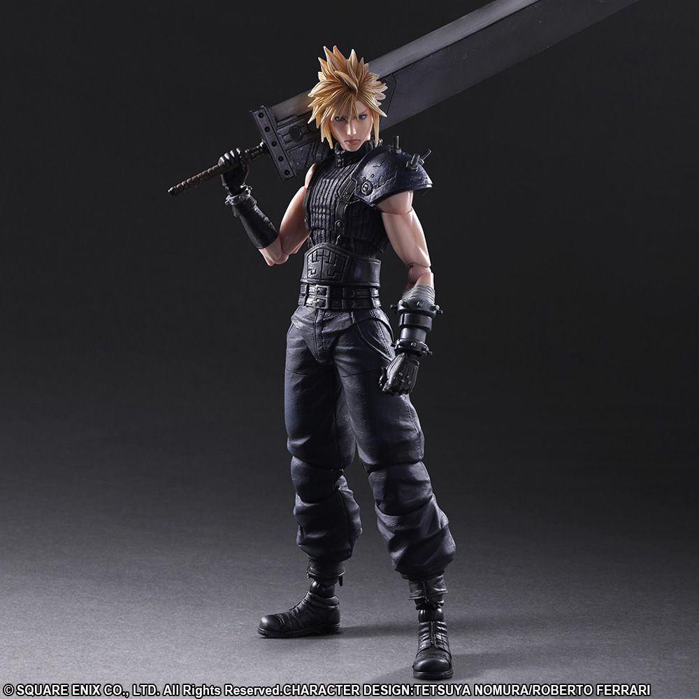 Play Arts Kai Final Fantasy VII Remake Cloud Strife NO.2 FF7 Action Figure Toy I
