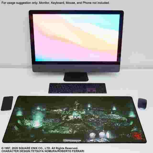 Screenshot for the game FINAL FANTASY VII REMAKE™ Gaming Mouse Pad - MIDGAR