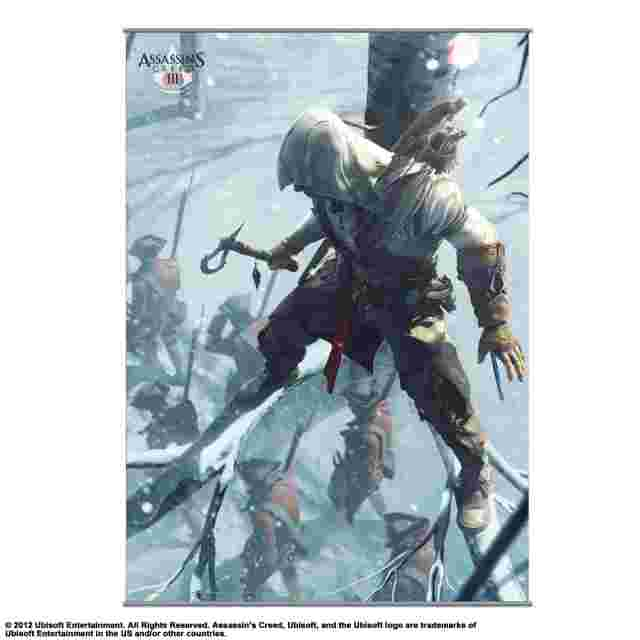 Screenshot for the game WALLSCROLL POSTER ASSASSIN'S CREED III - VOL 2