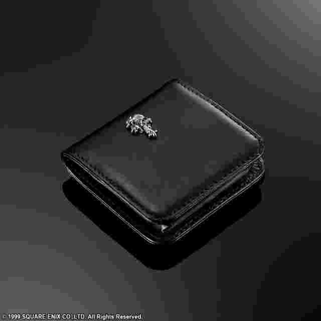 Captura de pantalla del juego FINAL FANTASY VIII Leather Coin Pouch - Sleeping Lionheart