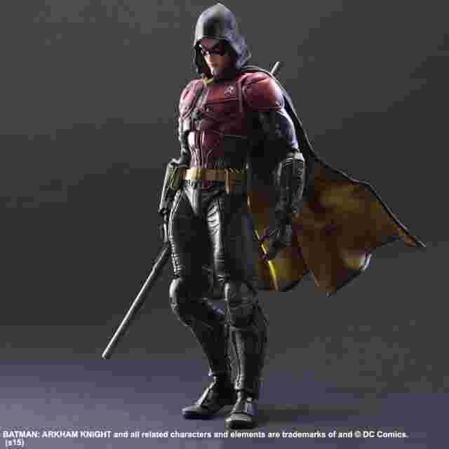 Screenshot for the game Batman: Arkham Knight Play Arts Kai [Robin]