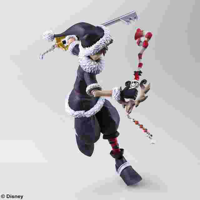Screenshot for the game KINGDOM HEARTS II BRING ARTS - SORA CHRISTMAS TOWN Ver.