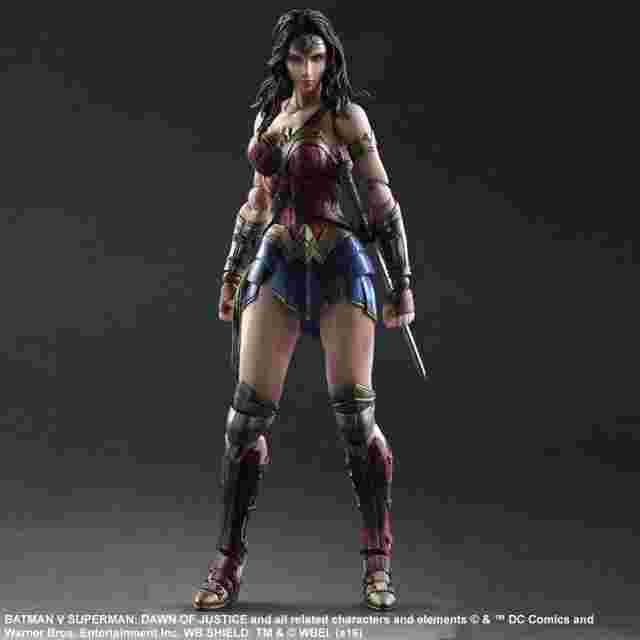 Screenshot des Spiels Figurine Batman v Superman: Dawn of Justice Play Arts Kai [WonderWoman]