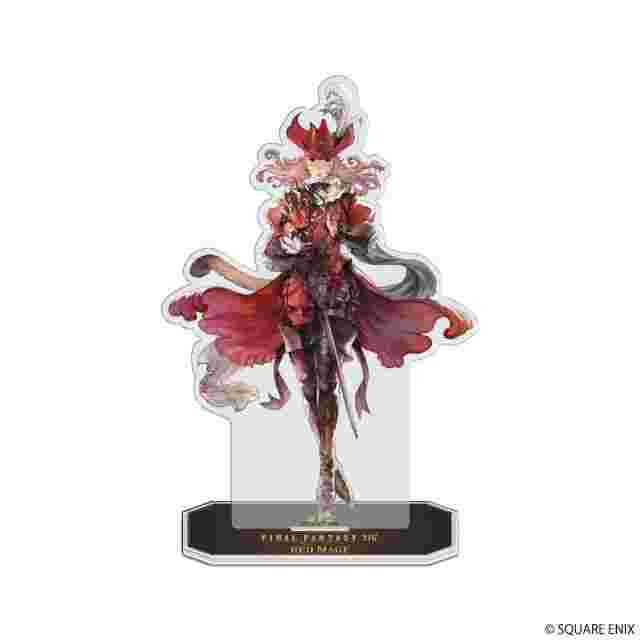 Captura de pantalla del juego FINAL FANTASY XIV ACRYLIC STAND - RED MAGE