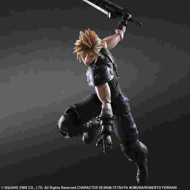 Screenshot des Spiels FINAL FANTASY VII REMAKE PLAY ARTS -KAI- No.1 CLOUD STRIFE