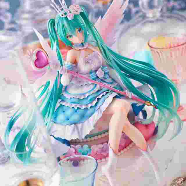 Screenshot for the game SPIRITALE BY TAITO HATSUNE MIKU BIRTHDAY 2020~SWEET ANGEL VER. 1/7 SCALE