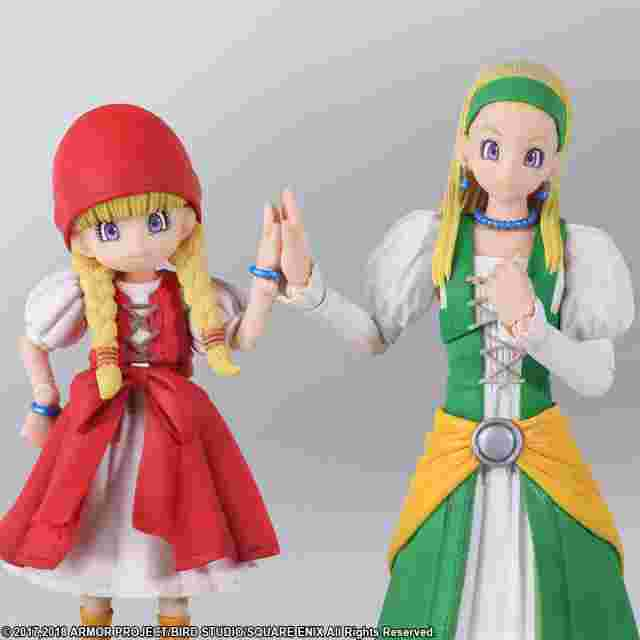 Capture d'écran du jeu DRAGON QUEST XI: Echoes of an Elusive Age BRING ARTS Veronica & Serena SQUARE ENIX Limited Version
