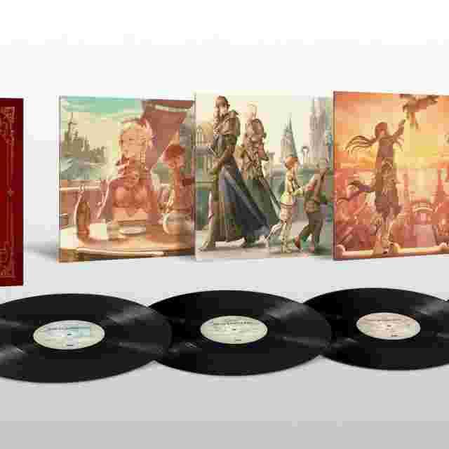 Capture d'écran du jeu FINAL FANTASY XIV VINYL LP BOX