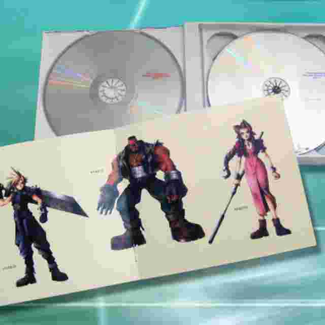 Captura de pantalla del juego FINAL FANTASY VII Original Soundtrack [Music Disc]