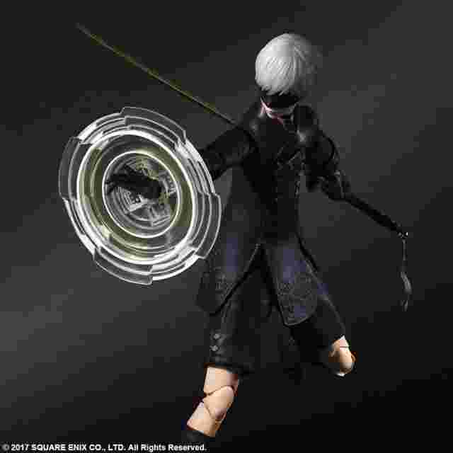 Screenshot des Spiels NIER:AUTOMATA PLAY ARTS KAI ACTION FIGURE 9S (YORHA NO.9 TYPE S) DELUXE VER.