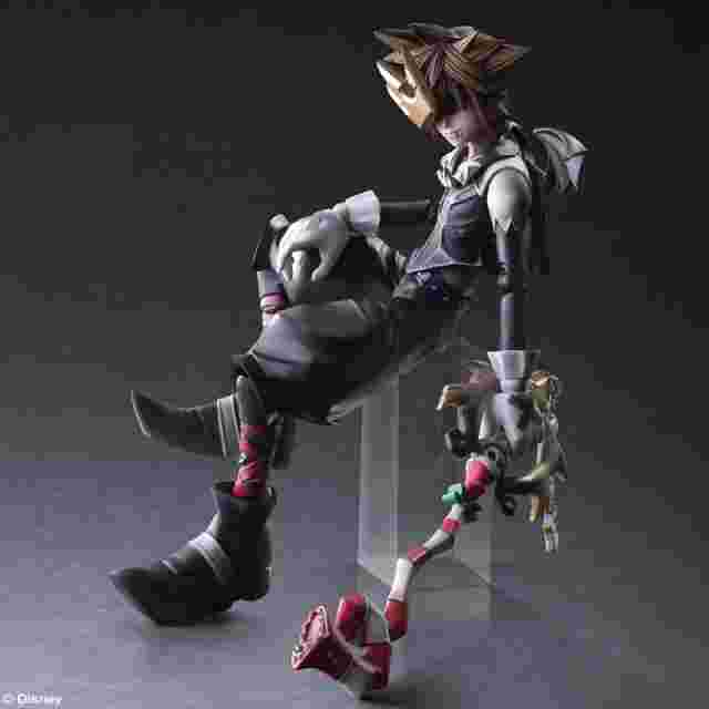 Screenshot for the game KINGDOM HEARTS II PLAY ARTS KAI - Sora -Halloween Town Version