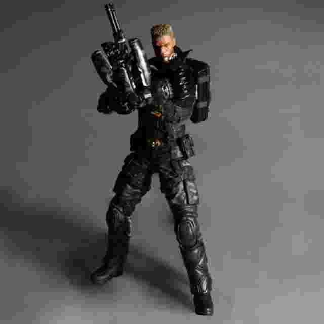 Captura de pantalla del juego DEUS EX: HUMAN REVOLUTION Play Arts Kai [Lawrence Barrett]