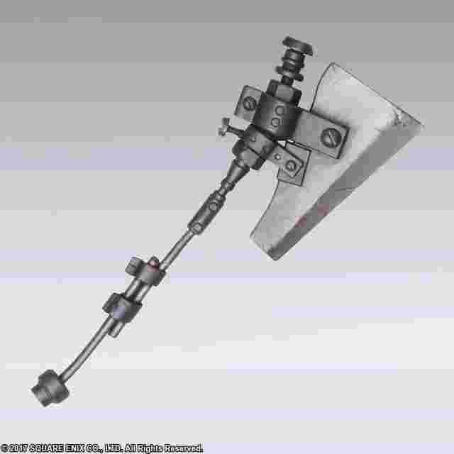 cattura di schermo del gioco NieR:Automata BRING ARTS Trading Weapon Collection (box of 10)