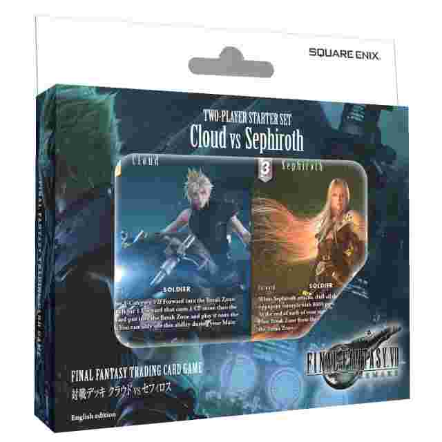 Screenshot for the game FINAL FANTASY TRADING CARD GAME: Cloud vs. Sephiroth TWO PLAYER STARTER SET [FFTCG]