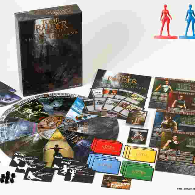 Captura de pantalla del juego Tomb Raider Legends: The Board Game
