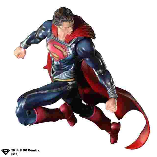 Capture d'écran du jeu FIGURINE MAN OF STEEL PLAY ARTS KAI - [SUPERMAN]