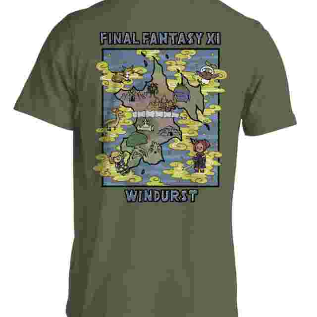 Screenshot for the game FINAL FANTASY® XI 18th Anniversary T-shirt Windurst: XL [Apparel]