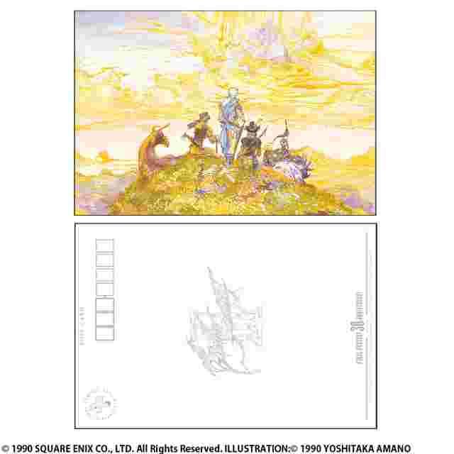 Screenshot for the game Final Fantasy 30ème anniversaire [Set de cartes postales]