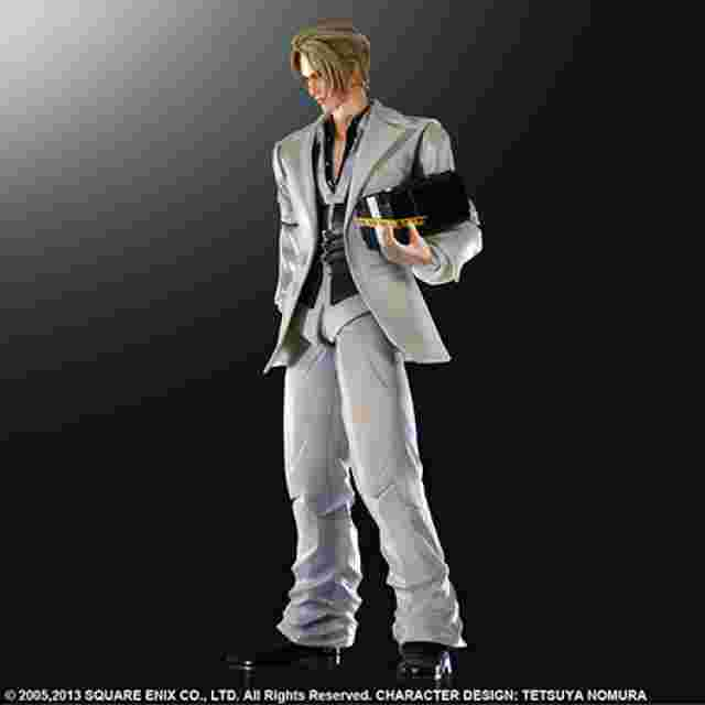 Capture d'écran du jeu FINAL FANTASY VII ADVENT CHILDREN PLAY ARTS KAI [Rufus Shinra]