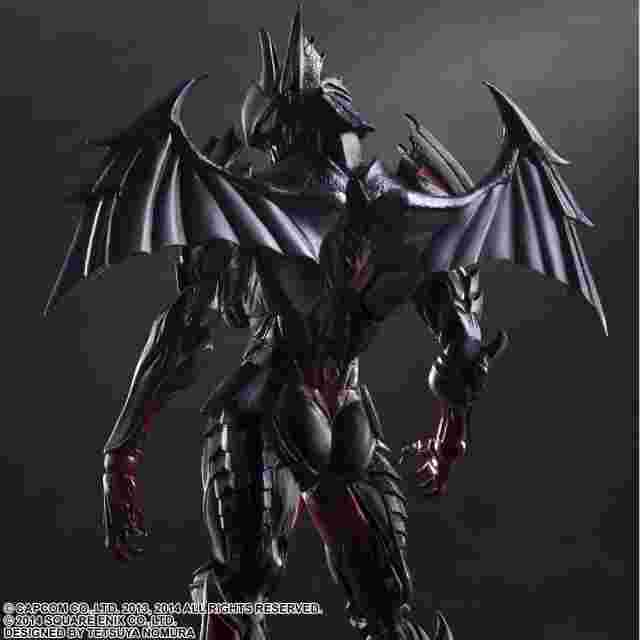 Capture d'écran du jeu Monster Hunter 4 Ultimate PLAY ARTS KAI - [Diablos Armor] (Rage Set)