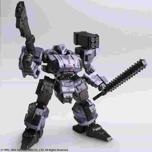 Screenshot for the game FRONT MISSION 1ST WANDER ARTS Frost Urban Camo Variant [ACTION FIGURE]