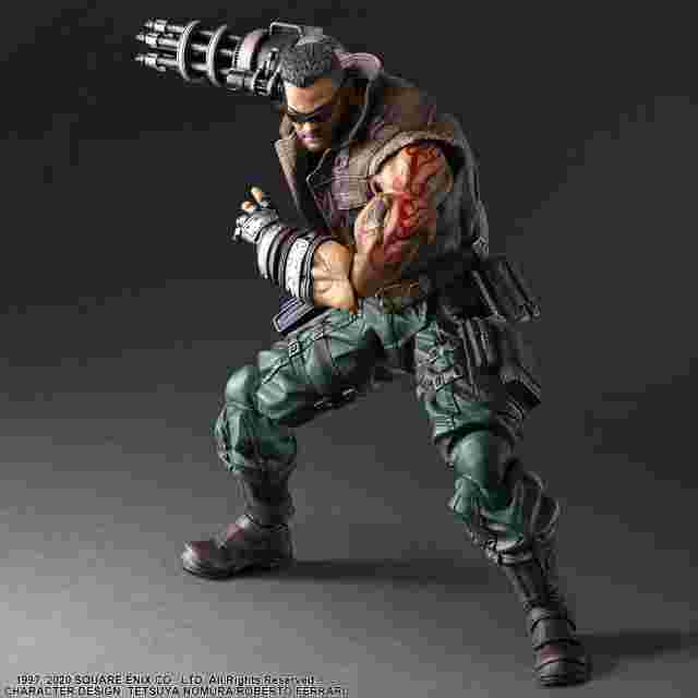 Screenshot for the game FINAL FANTASY® VII REMAKE PLAY ARTS -KAI- ™ BARRET WALLACE Ver. 2 [ACTION FIGURE]