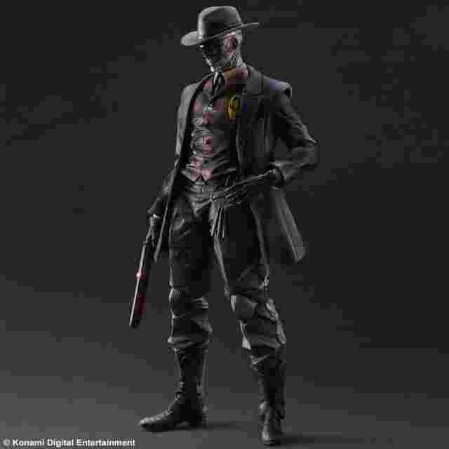 Capture d'écran du jeu FIGURINE METAL GEAR SOLID V THE PHANTOM PAIN PLAY ARTS KAI - [SKULL FACE]