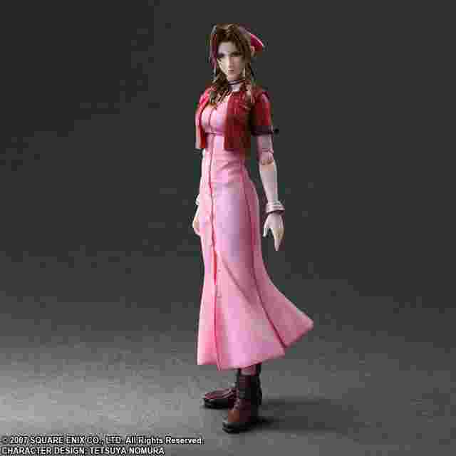 Capture d'écran du jeu CRISIS CORE - FINAL FANTASY PLAY ARTS KAI Aerith Gainsborough