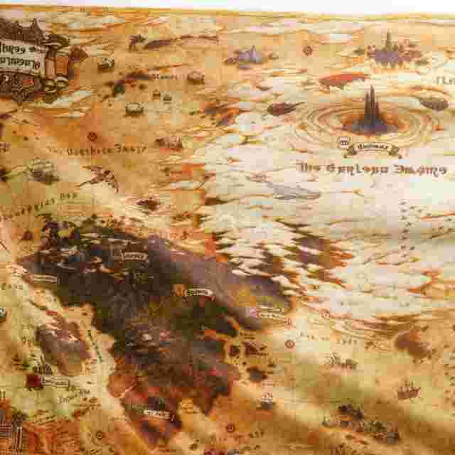 Screenshot for the game FINAL FANTASY XIV STORMBLOOD CLOTH MAP [REWARD]