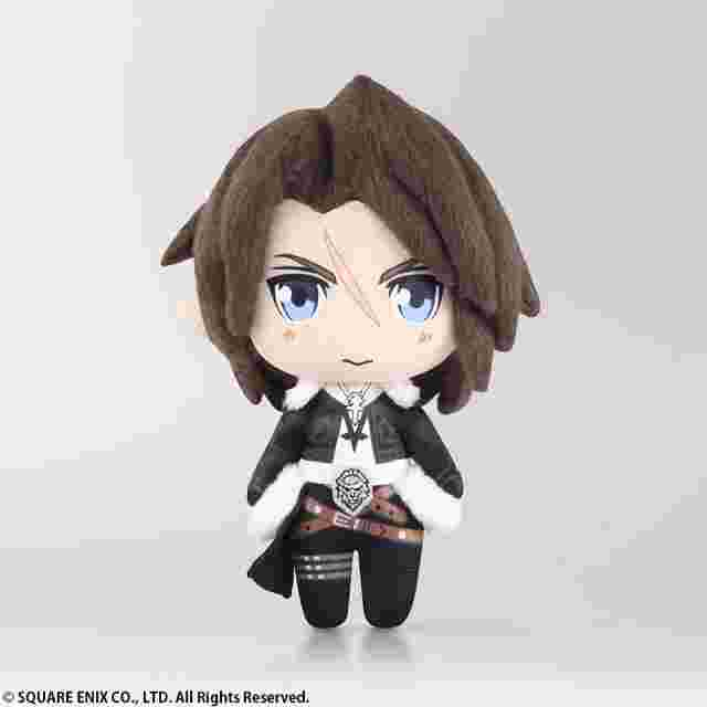 Captura de pantalla del juego FINAL FANTASY mini PLUSH: FINAL FANTASY VIII SQUALL