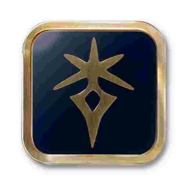 Capture d'écran du jeu FINAL FANTASY XIV Job Pin - Dark Knight