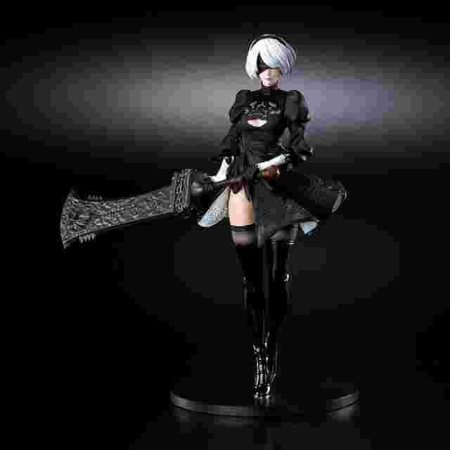 Screenshot for the game NieR:Automata Statuette - 2B (YoRHa No. 2 Type B) [FIGURE]