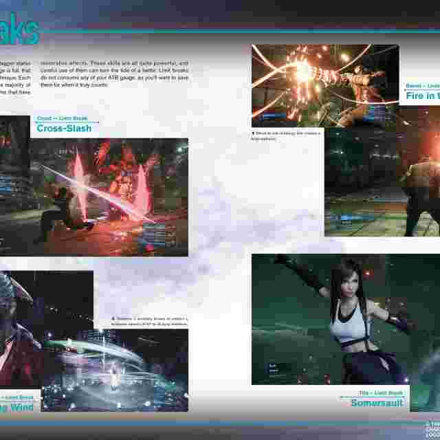 Screenshot for the game FINAL FANTASY® VII Remake World Preview [ARTBOOK]