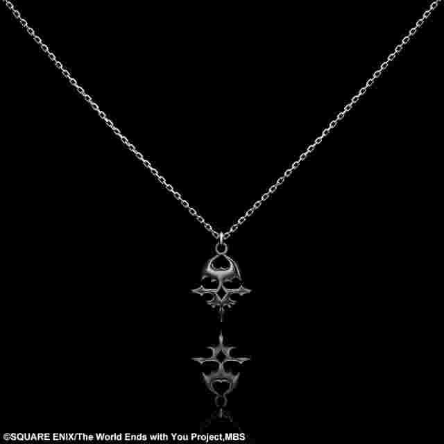Screenshot for the game The World Ends with You The Animation Silver Necklace - SKULL [JEWELRY]