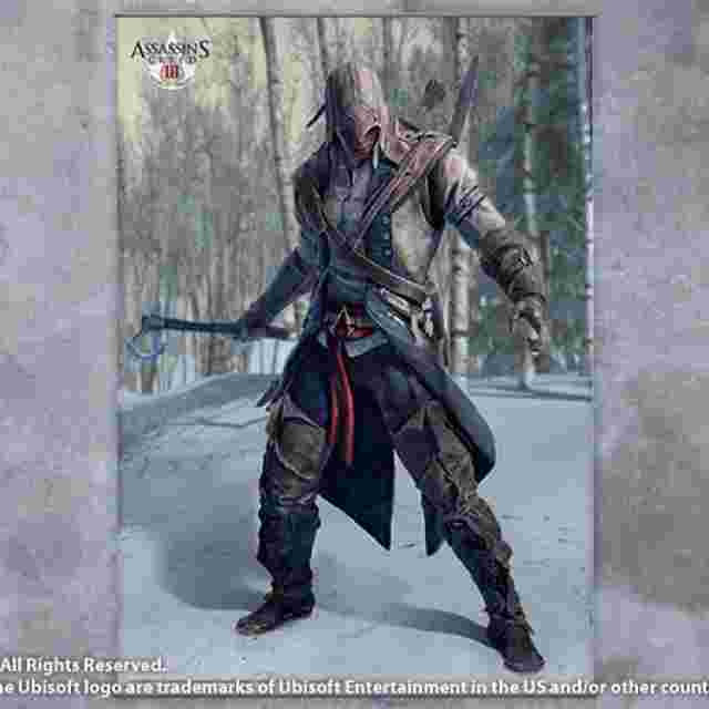 Screenshot des Spiels ASSASSIN´S CREED III [Wall Scroll Vol.1]
