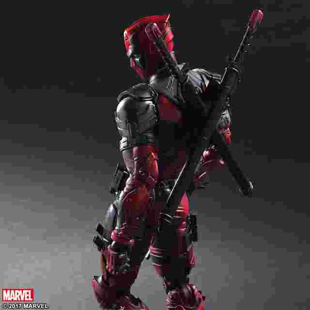 Capture d'écran du jeu Figurine Marvel Universe Variant Play Arts Kai [Deadpool]