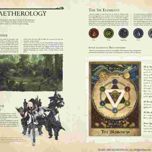 Screenshot for the game Encyclopaedia Eorzea ~The World of Final Fantasy XIV~ [BOOK]