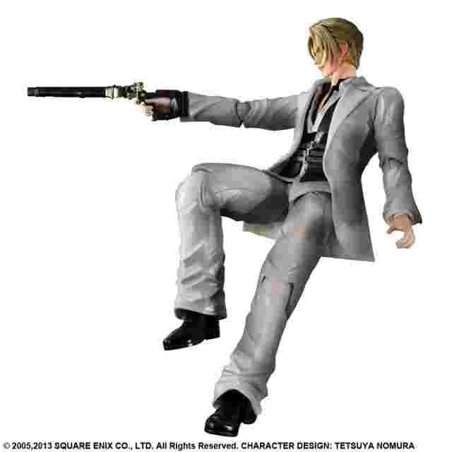 Capture d'écran du jeu FIGURINE FINAL FANTASY VII ADVENT CHILDREN PLAY ARTS KAI - [RUFUS SHINRA]