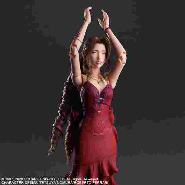 Screenshot for the game FINAL FANTASY VII REMAKE PLAY ARTS KAI AERITH GAINSBOROUGH DRESS VER.