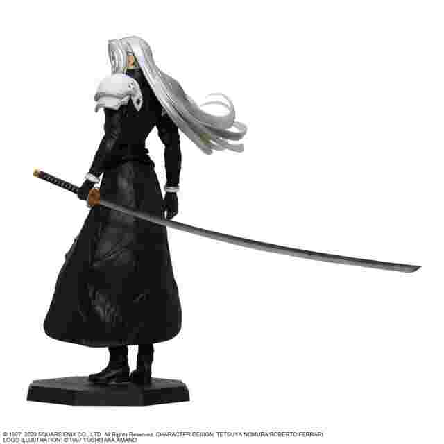 Screenshot for the game FINAL FANTASY® VII REMAKE Statuette: Sephiroth