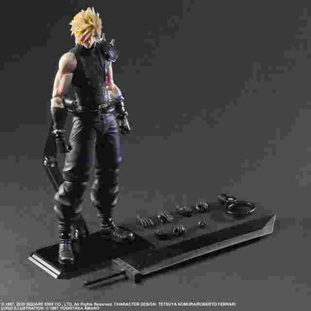 Screenshot for the game FINAL FANTASY® VII REMAKE PLAY ARTS -KAI- ™ CLOUD STRIFE Ver. 2 [ACTION FIGURE]